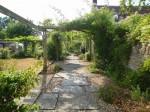 Roselyn garden - West